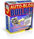Auto Blog Builder - Private Label Rights To A Brand New And Profitable Software You Can Stick Your Name On That Earns You Money While You Sleep!